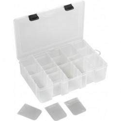 Plastikinė dėžutė aksesuarams, skaidri XXL