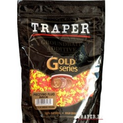 Traper jauko priedas Džiūvėsiai (Fluo mix raudona - geltona), 0,4 kg