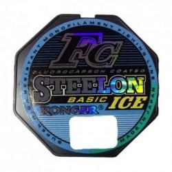 Monofilamentinis valas KONGER STEELON FC-1 BASIC ICE,  50m