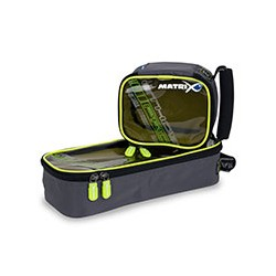 Krepšys Matrix ETHOS® Pro accessory bag - M clear top lime lining