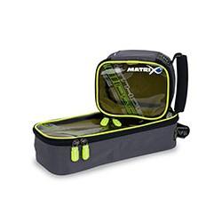 Krepšys Matrix ETHOS® Pro Accessory Bag - Medium clear top lime lining