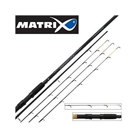 Meškerė Matrix Carboflex Feeder  3,9m  80g, 3 dalių
