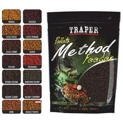 Traper jaukas Method feeder Pellets Halibut Black 2mm, 0,5  kg