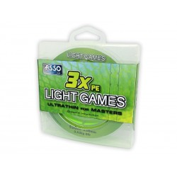 Pintas valas ASSO PE 3X LIGHT GAME, 100m