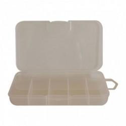 Plastikinė dėžutė smulkmenoms, skaidri
