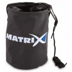 Matrix Collapsible water bucket suspaudžiamas kibirėlis vandeniui su virve