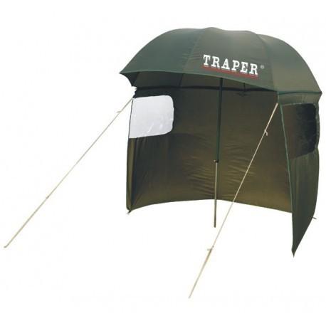 Traper skėtis su uždangalu