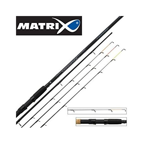 Meškerė Matrix Carboflex Feeder 3,6m 150g, 3 dalių