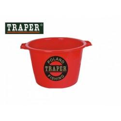 Traper jauko kibiras 40 l (Raudonas)