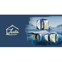 Žieminė palapinė (KUBAS) JURTA 3 (su galimybe sujungti dvi)