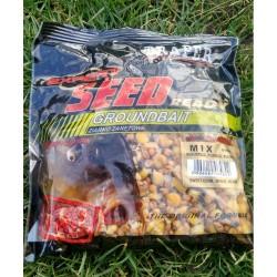 Traper jauko priedas EXPERT MIX (virti kukurūzai, Kanapės, perlinės kruopos), 0,5 kg