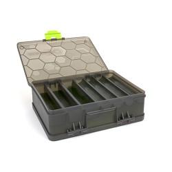 ATRIX DOUBLE SIDED FEEDER & TACKLE BOX dėžė šėrykloms