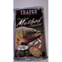 Traper jaukas Method feeder Fish Mix, 0,75 kg