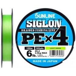 Pintas valas Sunline Siglon PEx4, 150m (Light Green)