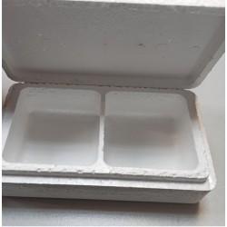 Termo dėžutė masalams, dviguba