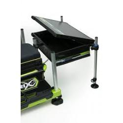 Matrix Collapsible side tray masalų staliukas su dangčiu, EVA