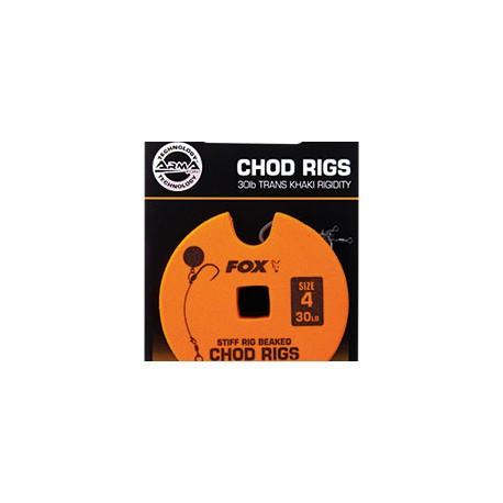 Kabliukai su pavadėliu EDGES™ Chod Rigs - Standard