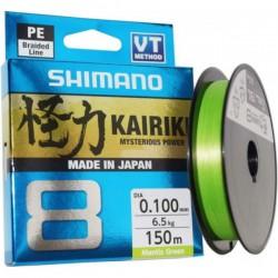 Pintas valas SHIMANO KAIRIKI 8 Mantis Green, 150m